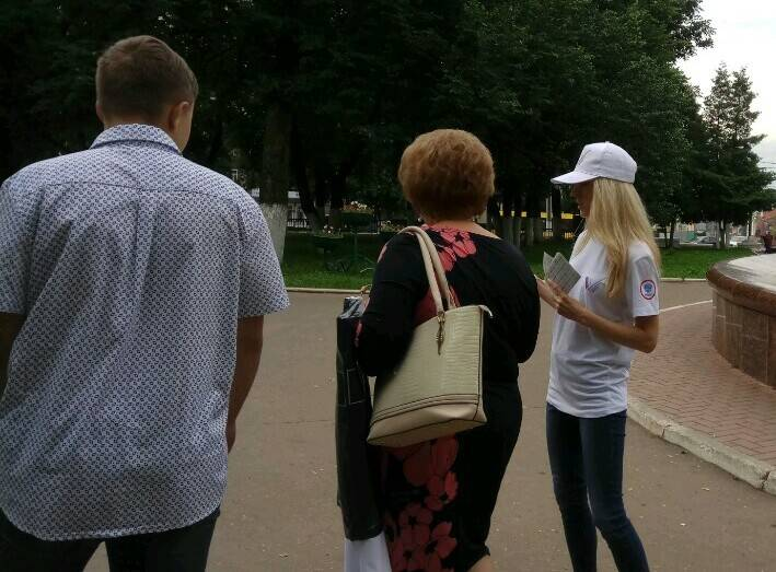 Активисты продолжают информировать жителей Кировской области о приоритетных проектах ОНФ