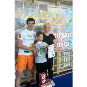 Представители «Липецкцемента» – вторые в соревнованиях семейных команд