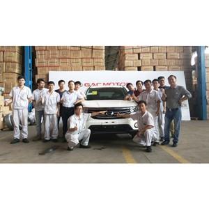 GAC Motor успешно реализует в Нигерии свой проект SKD