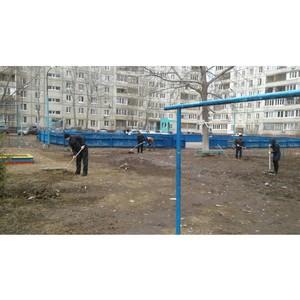 Активисты Общероссийского народного фронта организовали субботники в Уфе