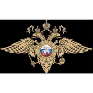 Полицейскими по районам Матушкино и Савелки задержан подозреваемый в краже из помещения организации