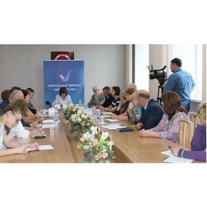 Активисты ОНФ оценили качество предоставляемых услуг в медицинских учреждениях Алтайского края