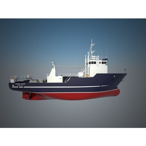 Хотча Морское Проектирование спроектировала   научно-исследовательское судно НИС 50010