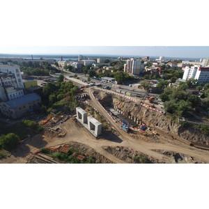 300 дней со старта строительства Фрунзенского моста в Самаре