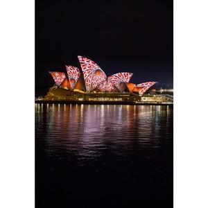 Австралийский Сидней засиял огнями Vivid Sydney
