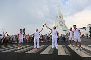 Acex Group помогла зажечь Огонь Универсиады-2013 в Казани