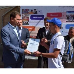 Студенческий стройотряд МарГУ проходят летнюю практику на энергообъектах «Мариэнерго»