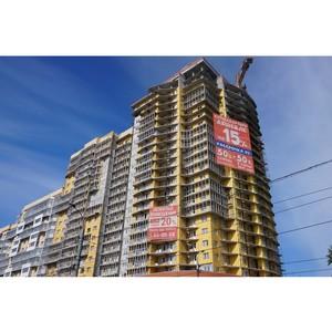 Строительство самого высокого жилого здания в Архангельске идет опережением графика