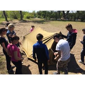 Воспитанники детских домов отправились «По следам войны» вместе со Сбербанком
