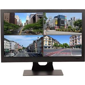 Ќовый 24Ф Full HD-монитор дл¤ систем видеонаблюдени¤ производства Smartec с медиаплеером