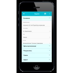 Компания «Системы КлиК» разработала мобильное приложение КлиК:CRM Mobile