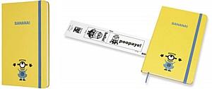 Миньоны и поп-арт: новые блокноты Moleskine для разработки, записи и набросков творческих идей