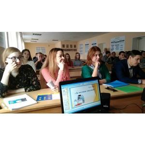 Активисты ОНФ рассказали студентам о реализации проектов Народного фронта в Карелии
