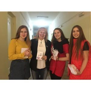 Воронежская команда «Молодежки ОНФ» провела акцию «Прекрасное рядом»