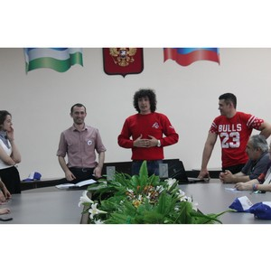 «Молодежка ОНФ» в КБР организовала мастер-класс по ораторскому искусству для юных изобретателей