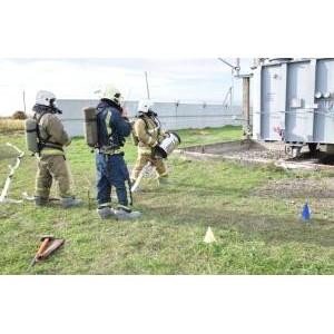 В филиале «Мариэнерго» прошли учения по ликвидации условной аварийной ситуации