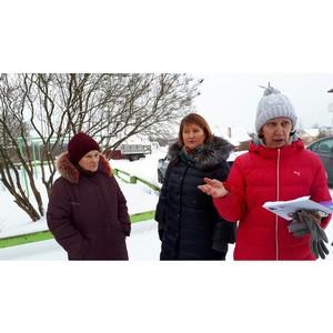 Активисты ОНФ провели рейд в рамках контроля за реализацией проекта благоустройства в Пряже