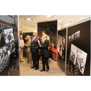 Интерактивная выставка «Война и мифы» открылась в Братиславе