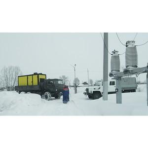 Кузбасские энергетики мобилизуются в связи с непогодой