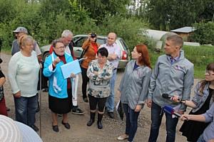ОНФ добивается от РЖД организации перехода через железнодорожные пути в микрорайоне Кирова