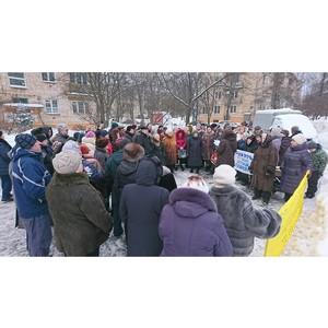 ОНФ обратился к властям Москвы с просьбой сохранить детскую площадку в поселке Восточный