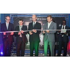 Торжественного открыт кинотеатр СИНЕМА ПАРК DeLUXE и первый суперзал IMAX®