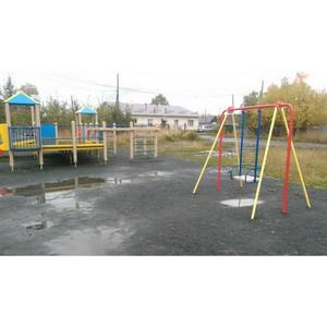 Активисты ОНФ взяли на контроль состояние спортивно-игровой площадки школы-интерната в Петрозаводске
