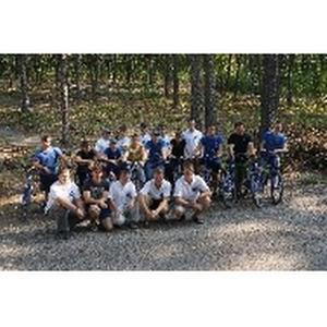 Липецкэнерго организовал велопробег для стройотрядовцев
