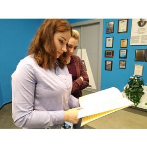 Активисты ОНФ организовали для студентов экскурсию в музей космонавтики