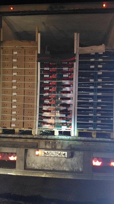 В Смоленской области задержано более 60 тон товаров из списка продуктового эмбарго