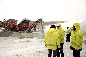 Курс на Урал – компания Sandvik Construction и ООО «Карьер-Сервис» продемонстрировали оборудование