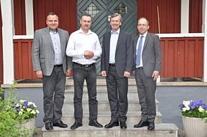 Делегация Министерства сельского хозяйства Рязанской области на ферме Хамра