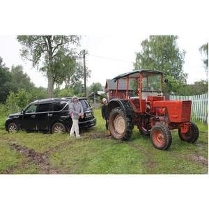 Активисты ОНФ проверили дорожный участок - лидера рейтинга «убитых» дорог Ивановской области
