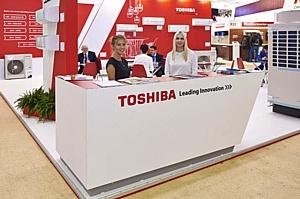 "Кондиционеры Toshiba на ""Мире Климата 2017"""