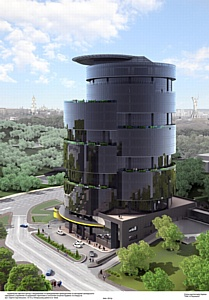 Инновации AGC Glass Russia для современной архитектуры: Stopray Titanium в «IQ Business Center»