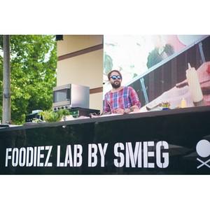 Smeg утверждает концепции новой еды на фестивале Foodiez