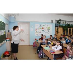 Сотрудники филиала «Удмуртэнерго» рассказывают школьникам  об опасности электрического тока