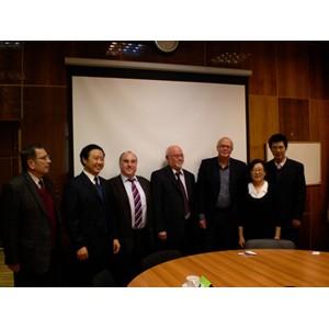 Встреча с объединенной делегацией SECRI и «Co-Way» в ФГУП ВЭИ