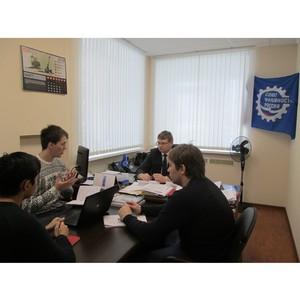 Встреча Свердловского РО СоюзМаш России и Союза студентов Института новых материалов и технологий