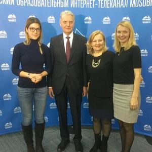 Финансовый омбудсмен Павел Медведев провел открытый урок в ТемоЦентре