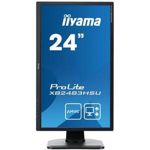 Надежность и чувствительность: мониторы iiyama X2483HSU и XB2483HSU с износостойкой матрицей
