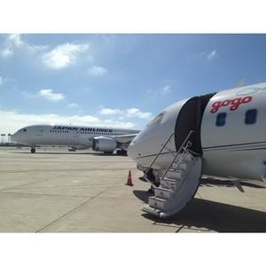 Gogo будет обеспечивать интернет на самолетах Japan Airlines
