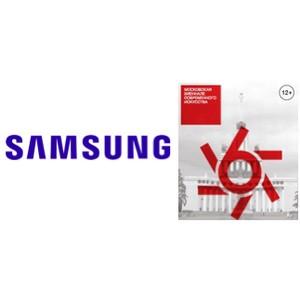 Samsung – технический партнер 6–ой Московской Биеннале современного искусства