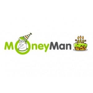 Три года MoneyMan: 200 тыс. займов на общую сумму 2,05 млрд рублей