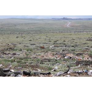 Активисты ОНФ выявили несанкционированные свалки на территории Республики Тыва