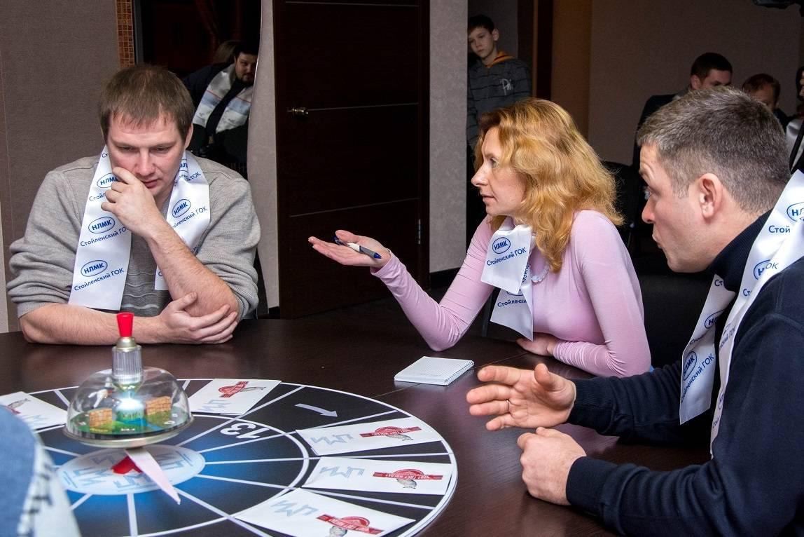Команда «Железные умы» СГОКа заняла третье место в городской интеллектуальной игре