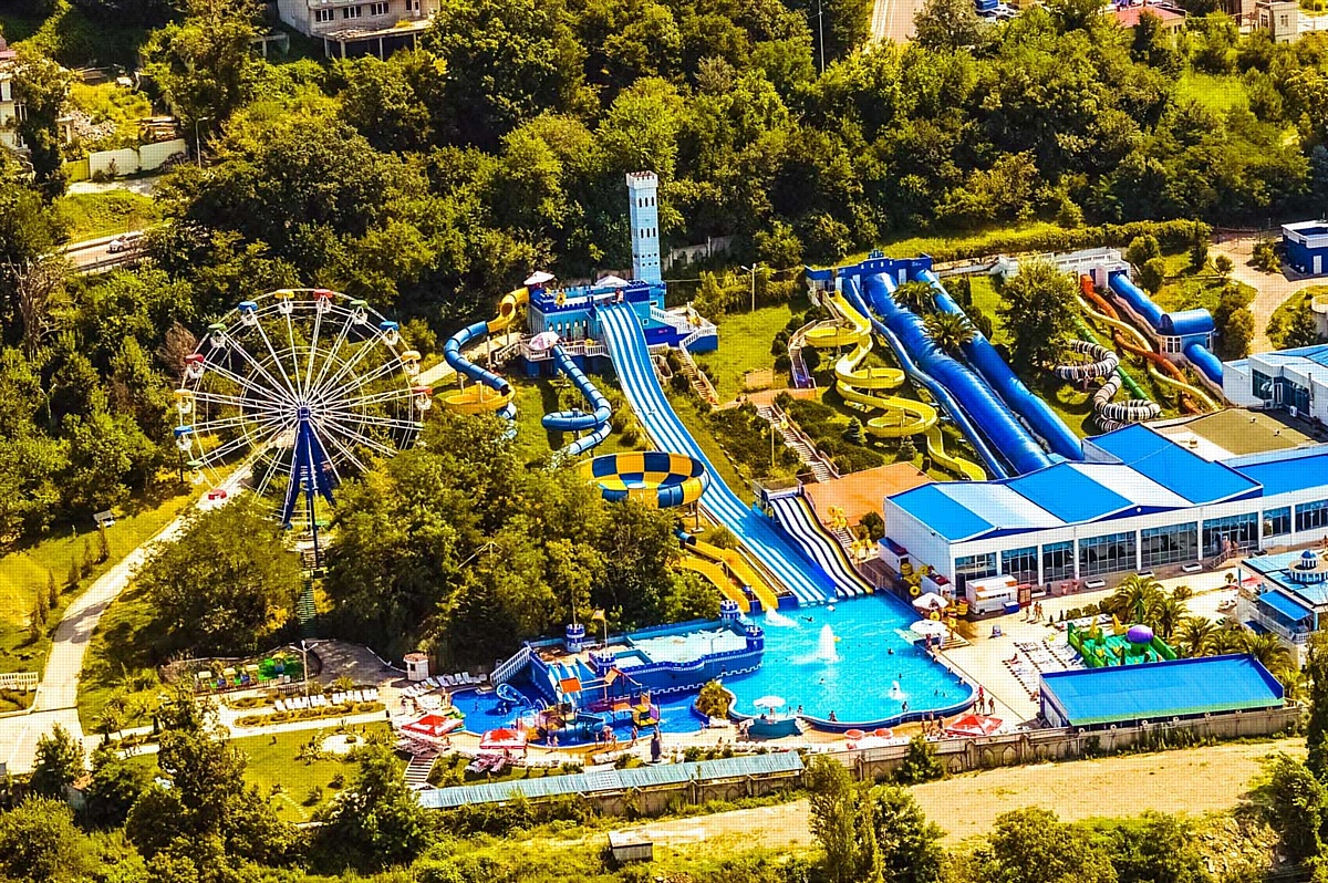 Интересные парки и аквапарки Сочи