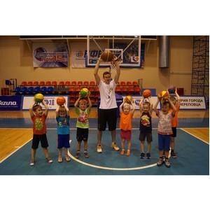 В Вологодской области открылся первый частный баскетбольный клуб для дошколят