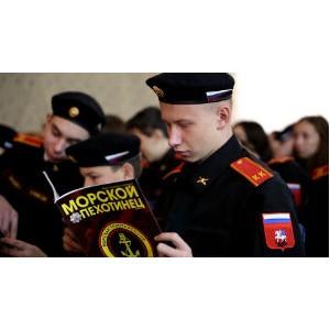 Кинокомпания «Союз Маринс Групп» на присяге кадетов в Детчино