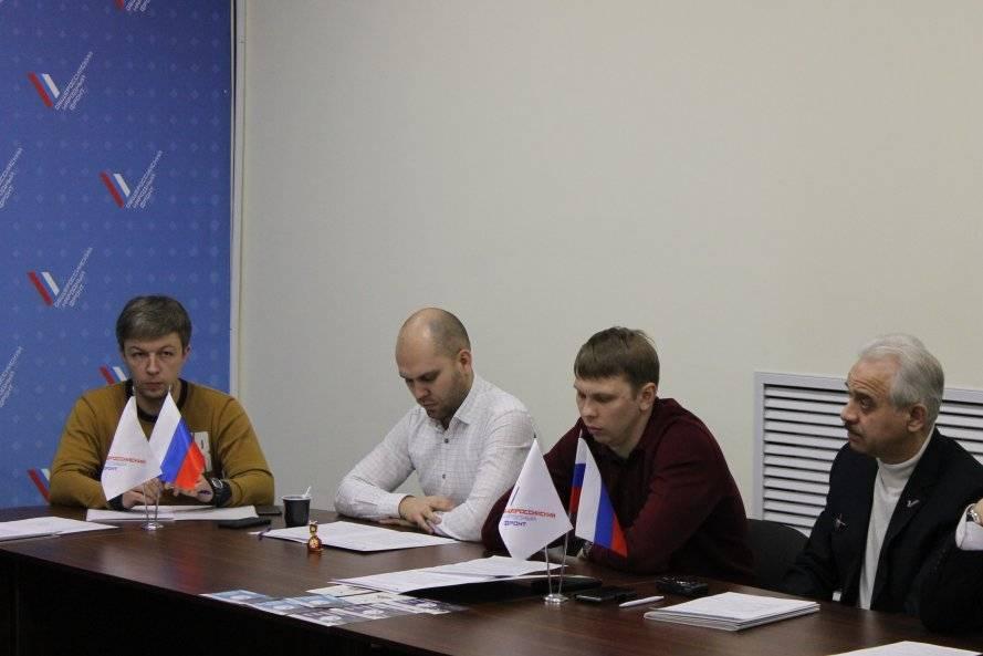 Представители челябинского штаба ОНФ подвели итоги работы в 2017 году